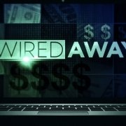 Wired Away text on laptop