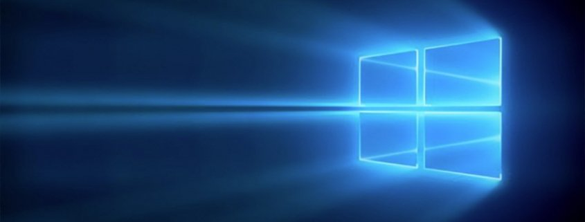 4 pane window with blue light shinning