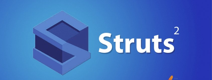 Apache-Struts logo on blue background