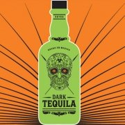 Dark-Tequila Logo on bottle