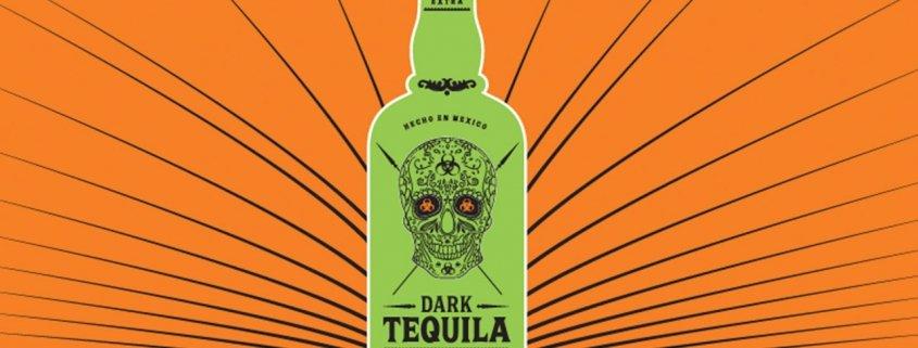 Dark-Tequila Logo on bottle