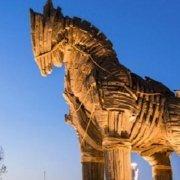 Life size Trojan Horse