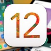 Apples-iOS-12 logo