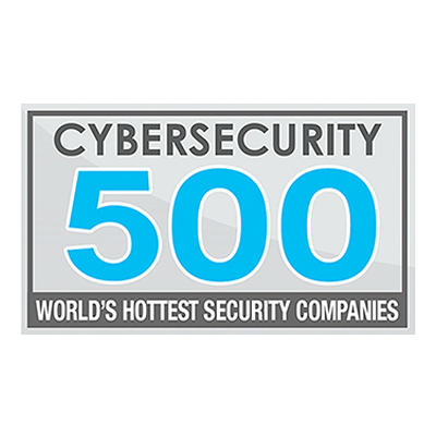 2016 CYBERSECURITY 500 award banner