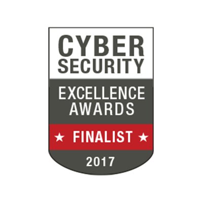2017 CYBERSECURITY EXCELLENCE AWARDS banner