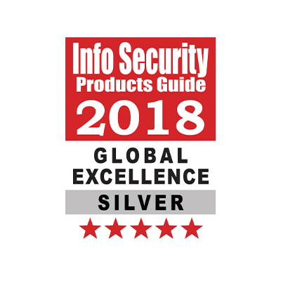 BEST SECURITY COMPANY OF THE YEAR award banner