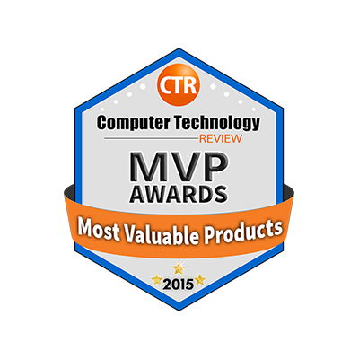 COMPUTER TECHNOLOGY REVIEW MVP AWARD banner