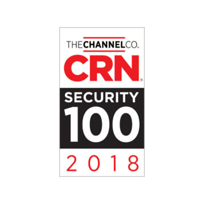CRN SECURITY 100 award banner