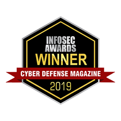 CYBER DEFENSE MAGAZINE INFOSEC AWARD banner