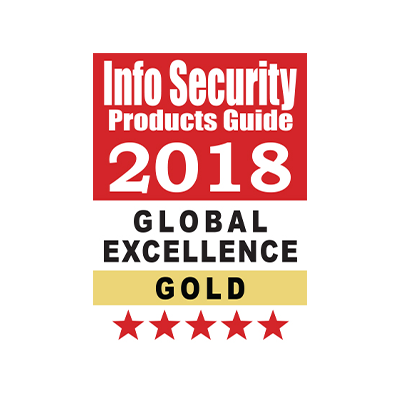 CYBER SECURITY VENDOR ACHIEVEMENT OF THE YEAR award banner