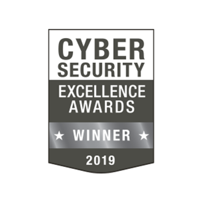 CYBERSECURITY EXCELLENCE AWARD banner