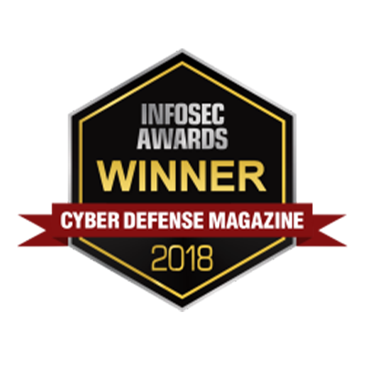 THE PUBLISHER'S CHOICE FOR SECURITY COMPANY OF THE YEAR award banner