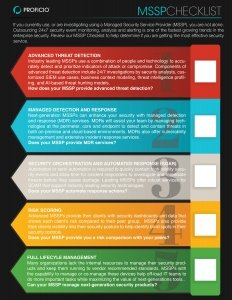 MSSP-Checklist