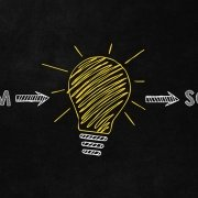 Problem to Solution Lightbulb