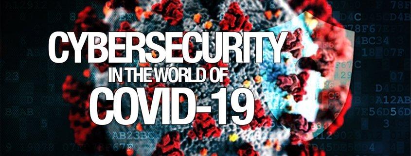 Cybersecurity-COVID19-hero banner