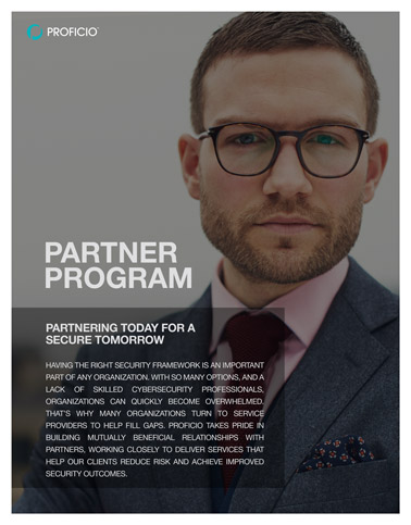Proficio Partner Program Overview