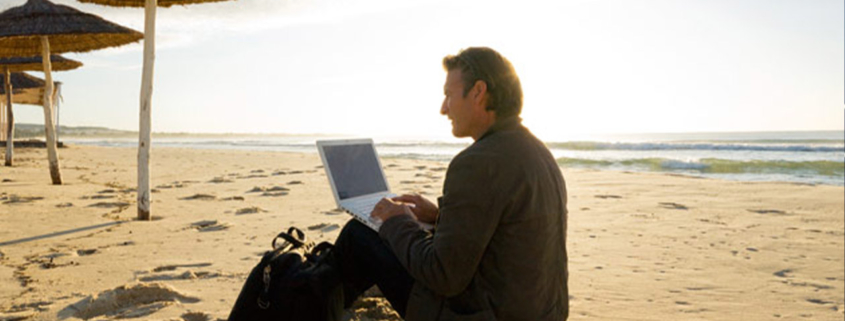 Man-workng-on-the-beach WFX