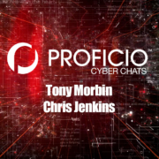Cyber Chats with Tony Morbin and Chris Jenkins Title