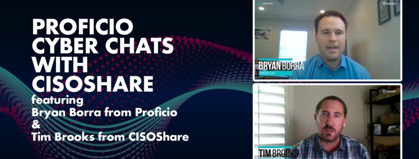 CISOShare Cyber Chats with Proficio