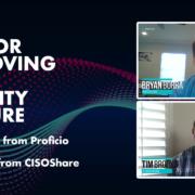 Proficio Cyber Chats CISOShare Borra Brooks