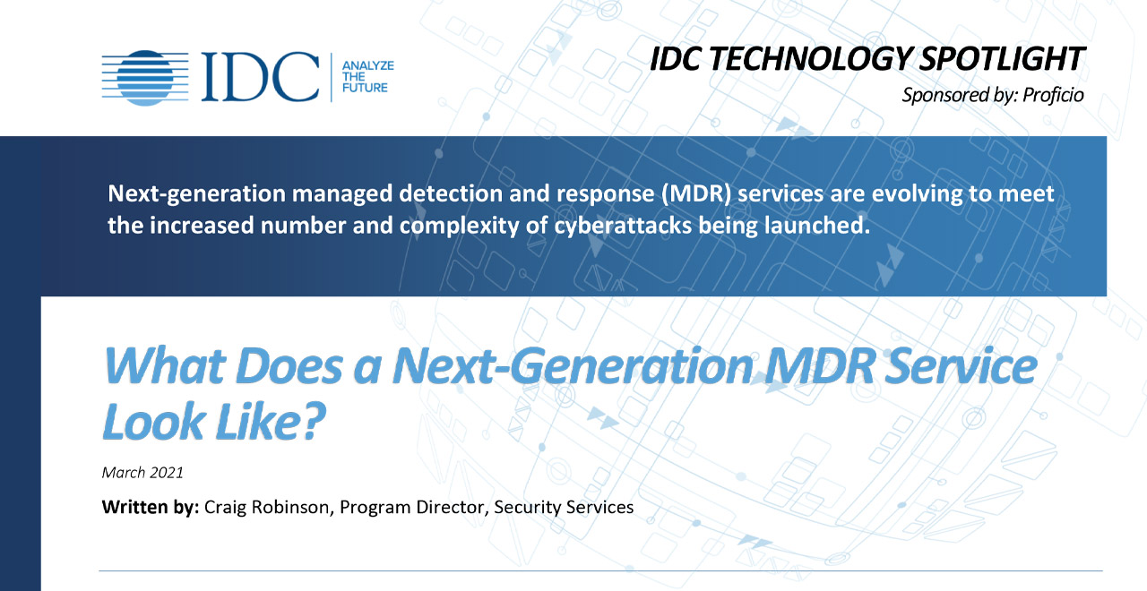 IDC Technology Spotlight MDR