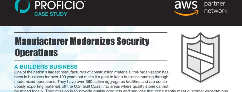 Proficio-Case-Study-Construction-Manufacturer-Cover