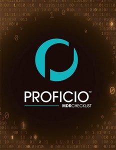 Proficio MDR Checklist Cover Binary