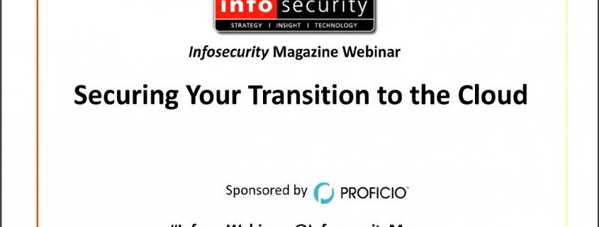 Transition-to-the-Cloud-Webinar-Proficio-Title Page